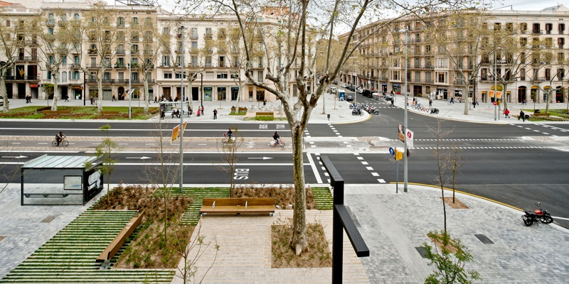 Remodelling of Passeig de Sant Joan Avenue (Phase 1)
