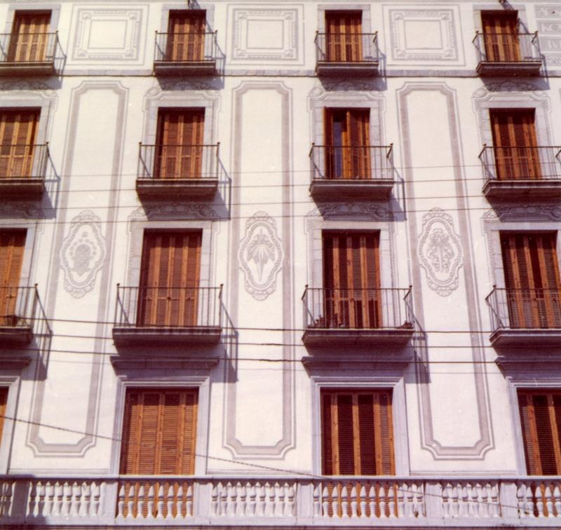 Primera Reforma de l'Edifici de la Caixa de Pensions a Girona