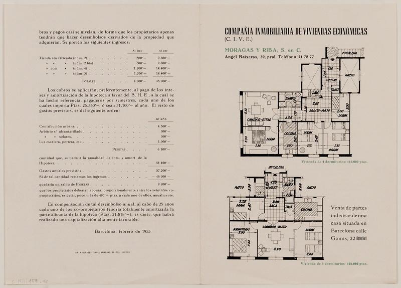 Edifici d'Habitatges Gomis