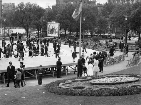 Proyecto Definitivo de la Plaça Catalunya