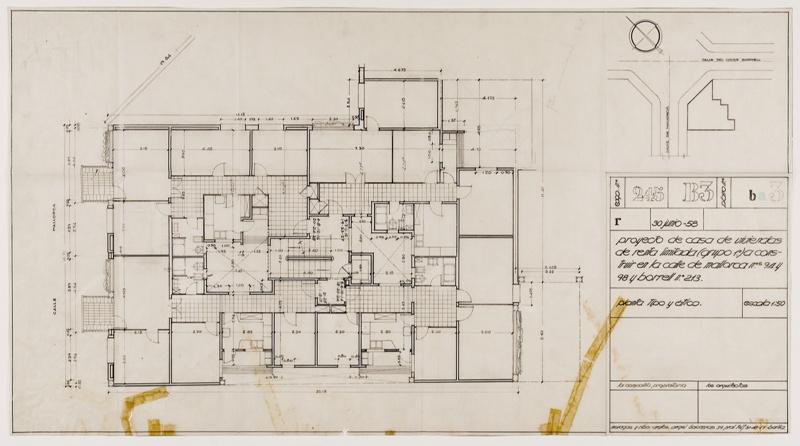 Edifici d'Habitatges Comte Borrell