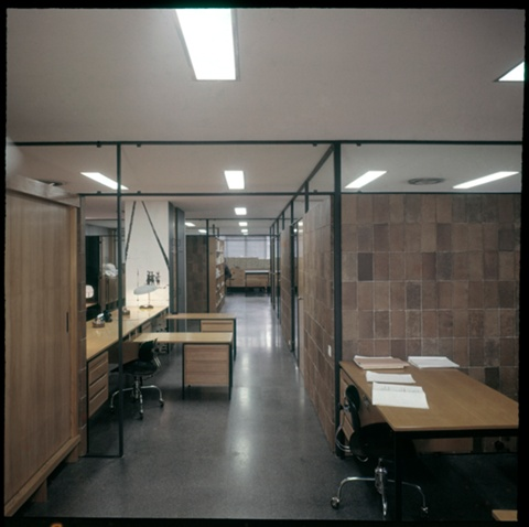 Publications and Building Information Office Floor of the Architects' Association of Catalonia (COAC)