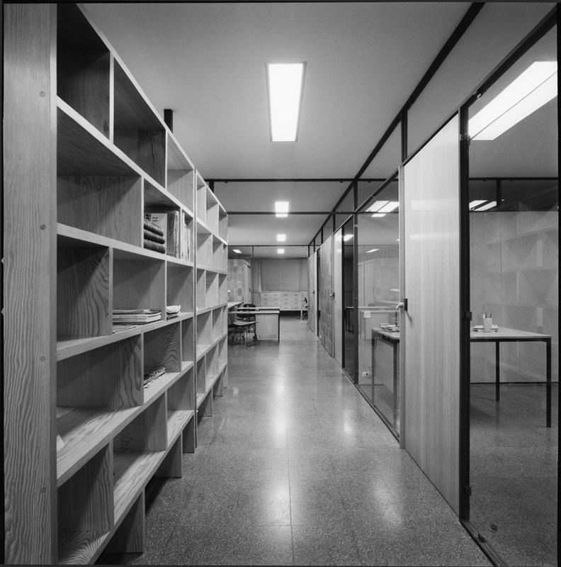 Planta de Publicacions i Oficines CIDE del Col·legi d'Arquitectes de Catalunya (COAC)