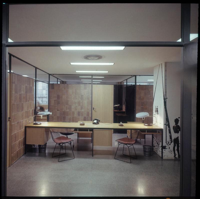 Planta de Publicaciones y Oficinas CIDE del Colegio de Arquitectos de Cataluña (COAC)
