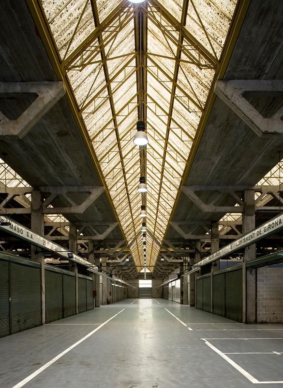 Mercat a l'Engròs de Girona