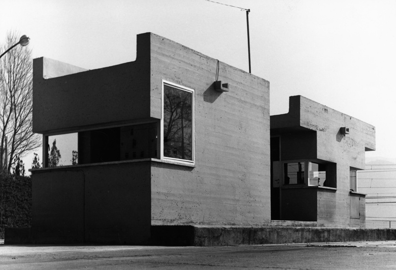 Caseta de Porteria i Peses a la Fàbrica Asland