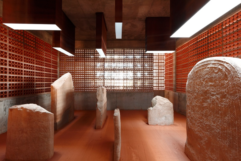 Interpretation Space of the Megalithic Tomb/Dolmen dated 2800 BC