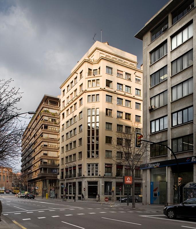 Seu del Banco Vitalicio de España a Girona