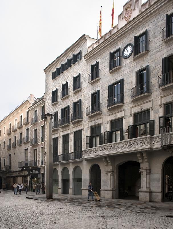 Reforma de l'Ajuntament de Girona