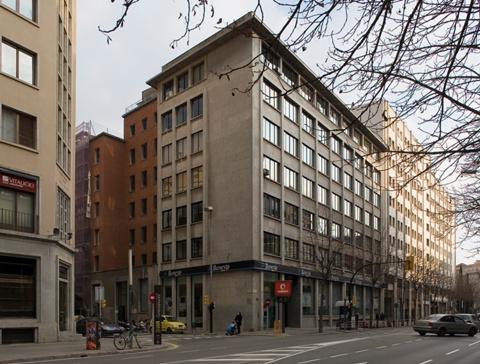 Seu del Banco Español de Crédito a Girona