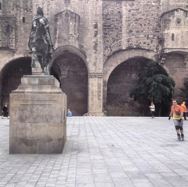 Arranjament de la Plaça Ramon Berenguer el Gran