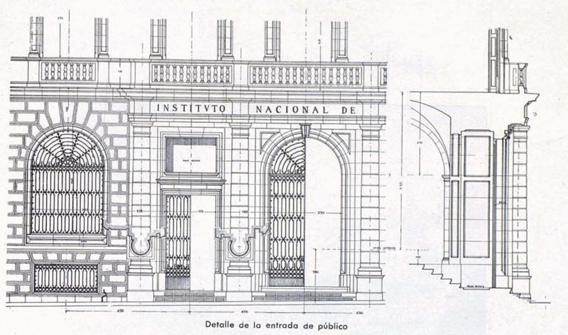 Edifici Social de l'Institut Nacional de Previsió