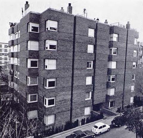 Edifici d'Habitatges Tres Torres 44-50