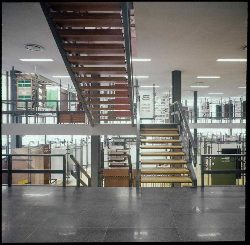 Planta CIE i Exposicions del Col·legi d'Arquitectes de Catalunya (COAC)