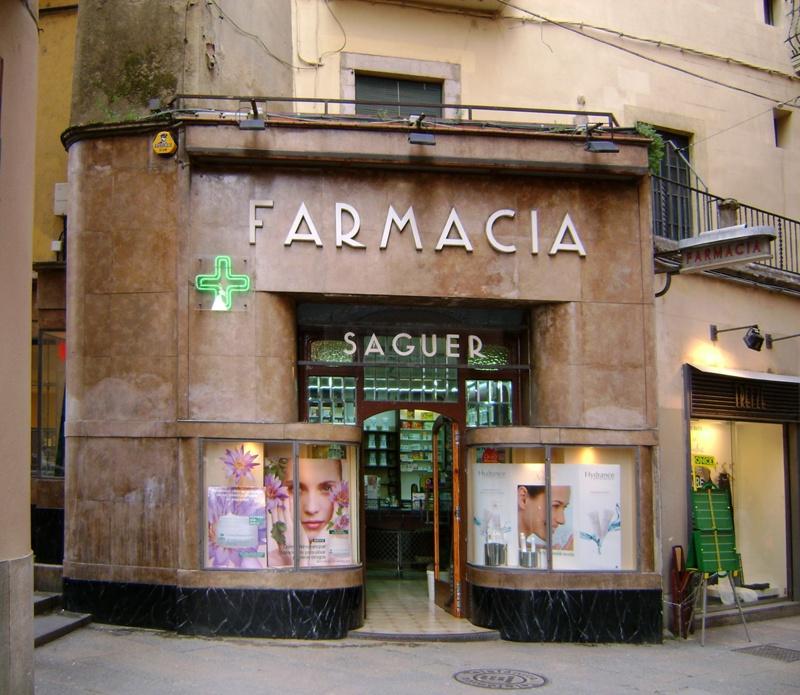 Reforma de la Façana de la Farmàcia Masó Puig