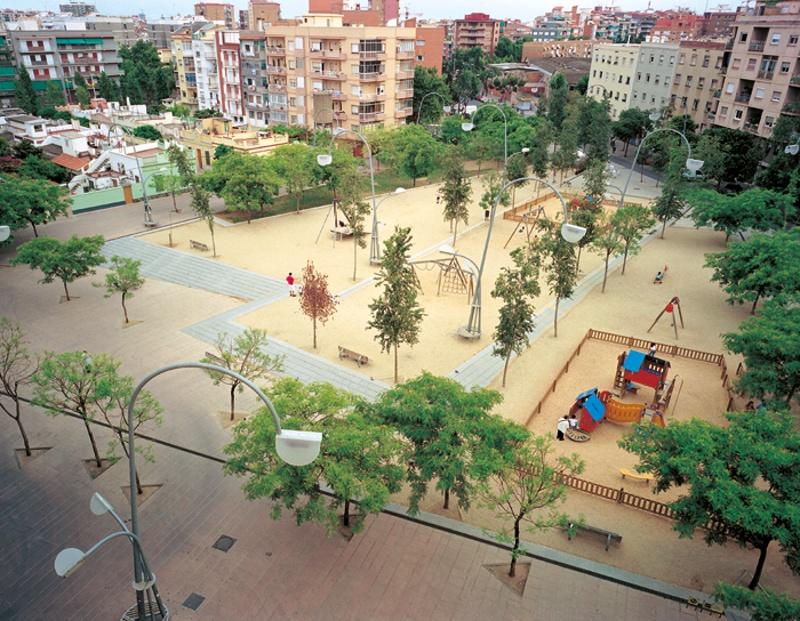 Plaça del Virrei Amat