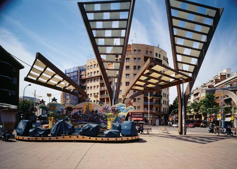 Plaza del Virrei Amat