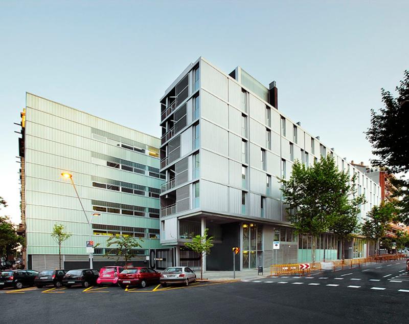 Mallorca Apartment Building and School