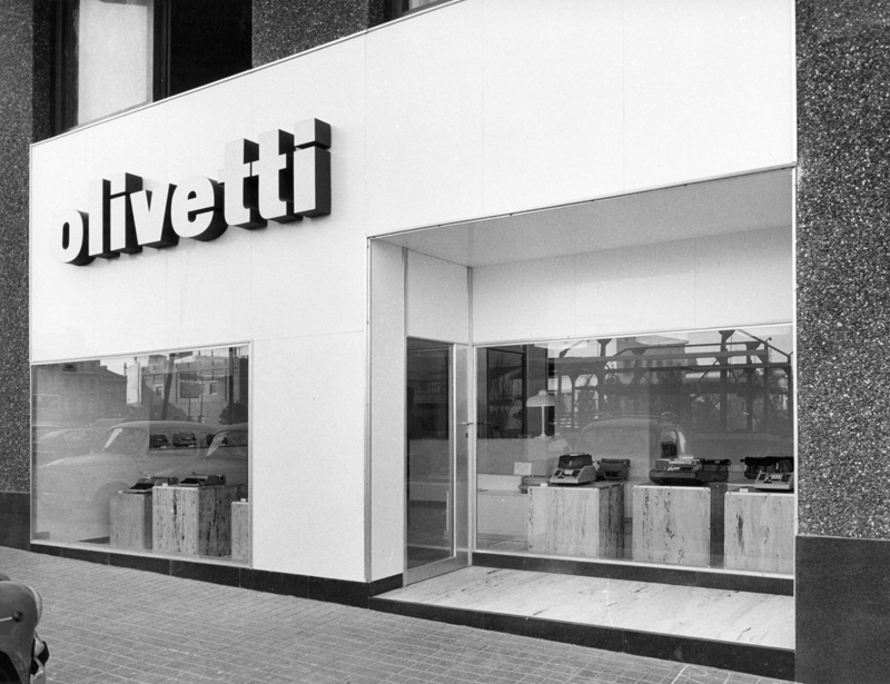 Tienda Olivetti
