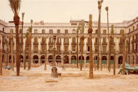 Reforma de la Plaça Real