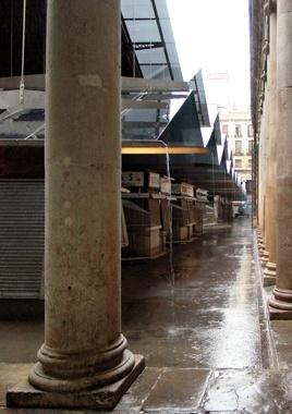 Interventions in La Boqueria Market