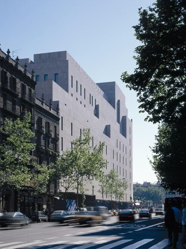 New Façades of El Corte Inglés