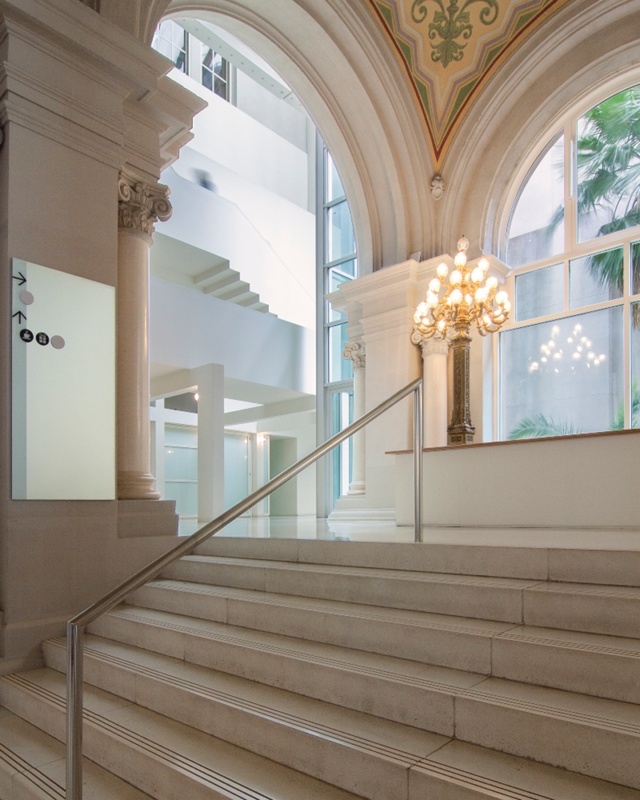 Reorganization of the National Palace as the Museum of Art of Catalonia (MNAC)