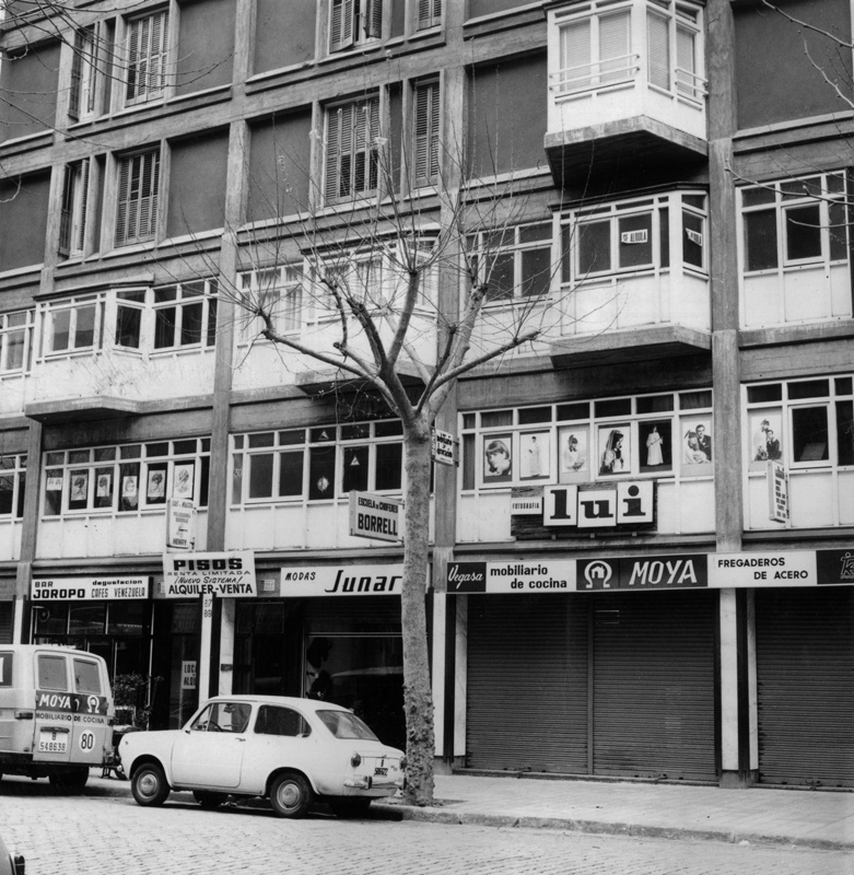 Habitatges Comte Borrell 87