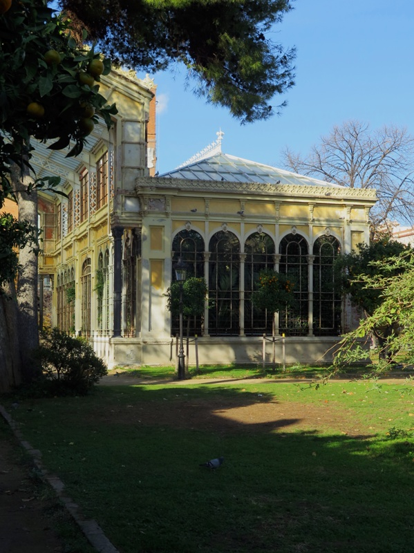 Greenhouse in La Ciutadella Park