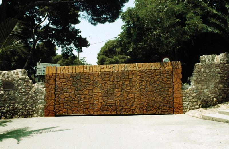Intervenciones en el Park Güell