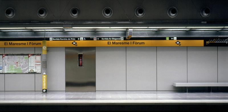 Estación de Metro L4: El Maresme-Fòrum