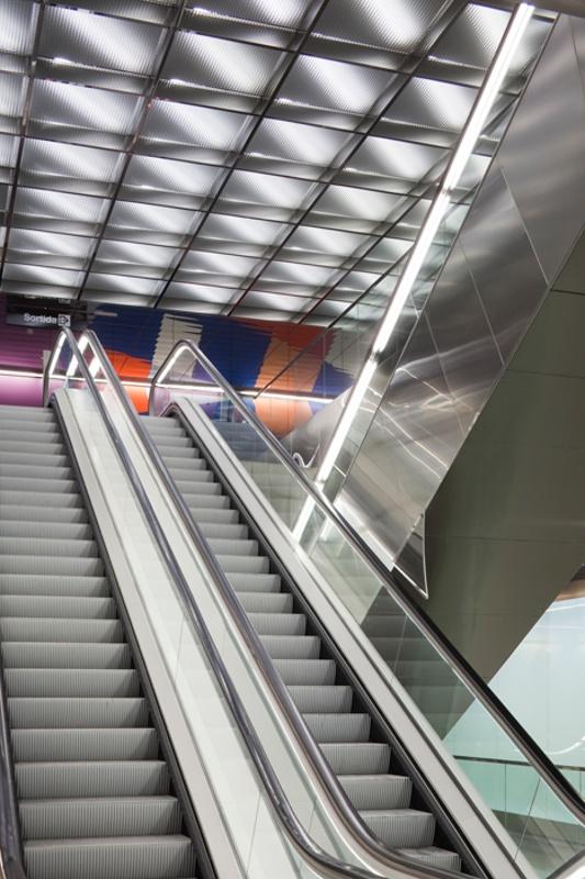 Estació de Metro L9-L10: La Sagrera