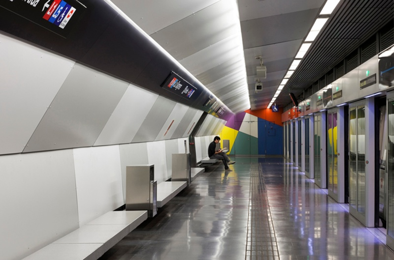 Lines 9 and 10 Metro Station: La Sagrera