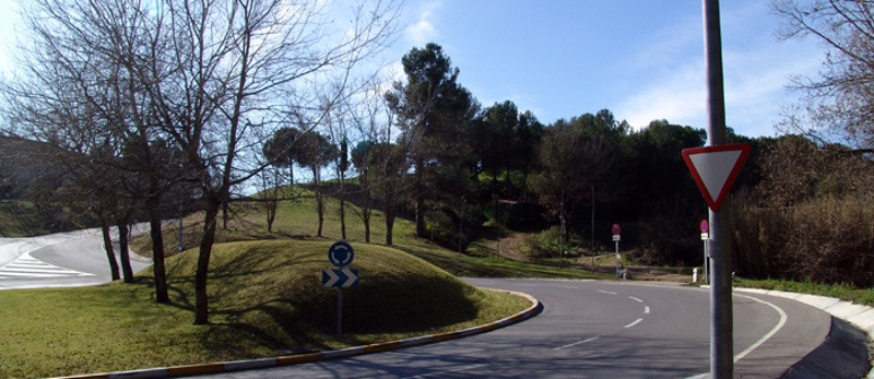 Roundabout in Bellaterra