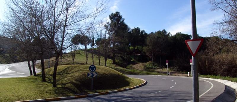 Rotonda en Bellaterra