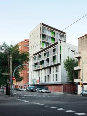 Edifici d'Habitatges a Les Corts