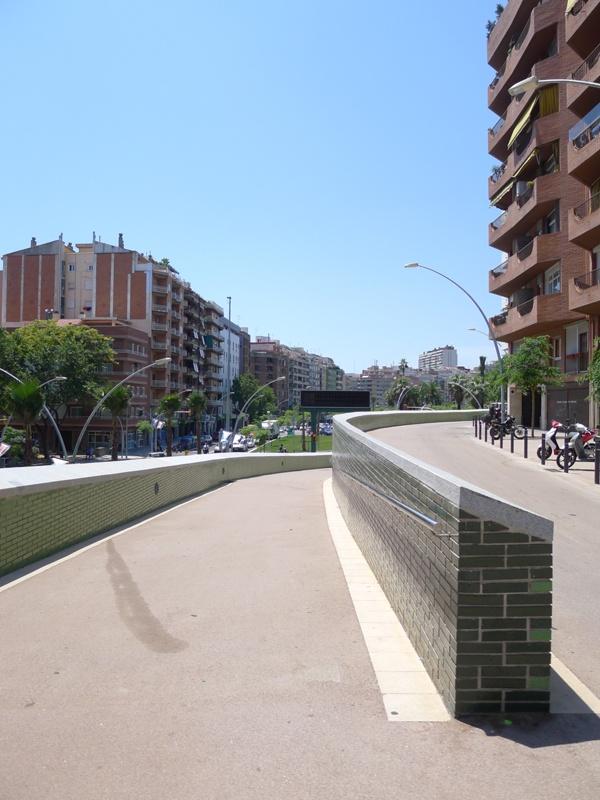 Reorganization of the Guinardó Ring Road and La Rovira Tunnel (South Entrance)
