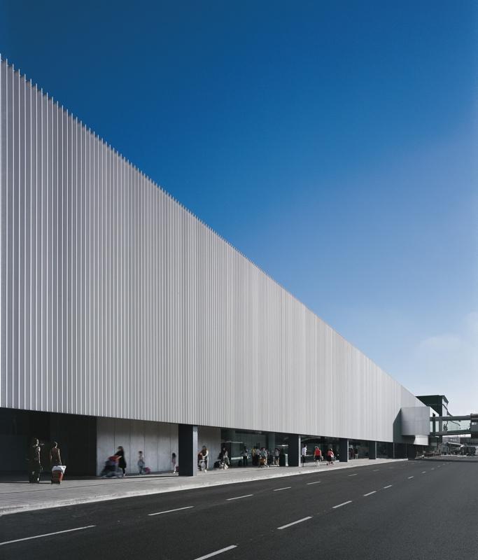 Edifici Intermodal de la Terminal 2B de l'Aeroport de Barcelona