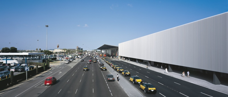 Terminal 2B Intermodal Building at Barcelona Airport
