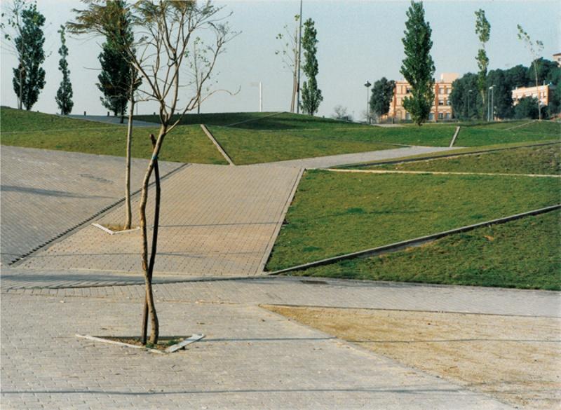 Jardín en la Calle Madrid