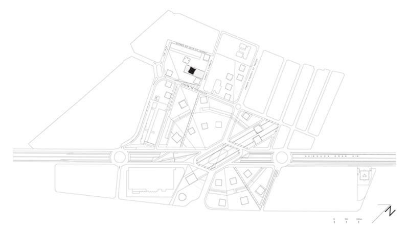 Social Housing Block in Europa Square