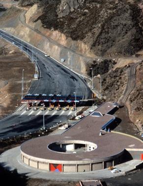 Edificio de Mantenimiento y Control del Túnel del Cadí