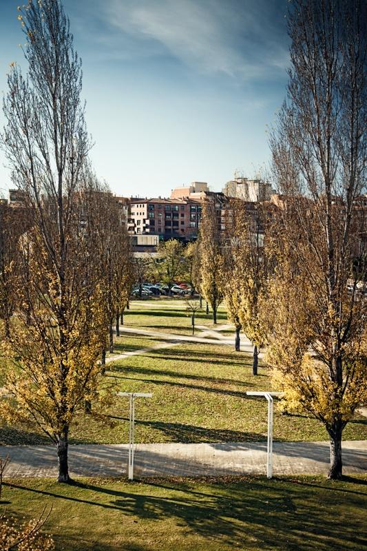 Central Park, Rambla del Celler and Sant Cugat Park System