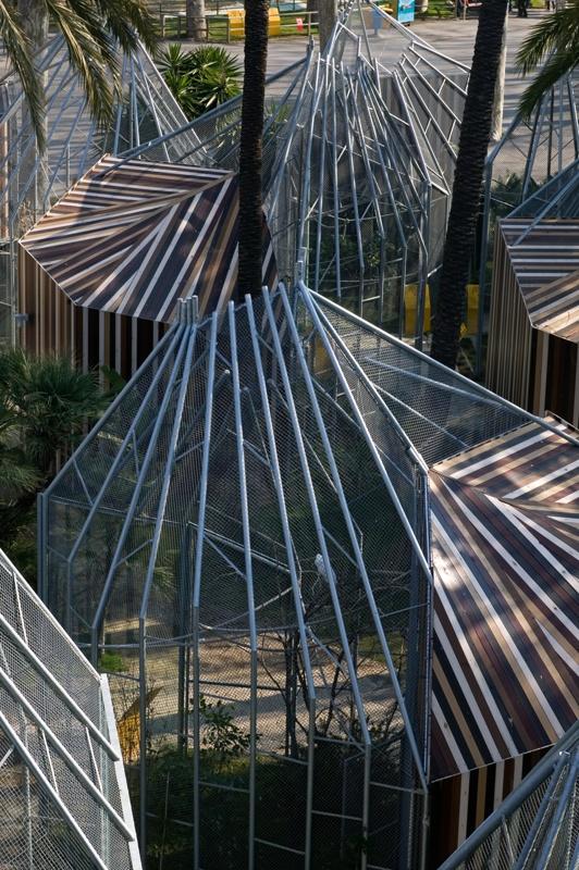 Gàbies per a Guacamais al Zoo