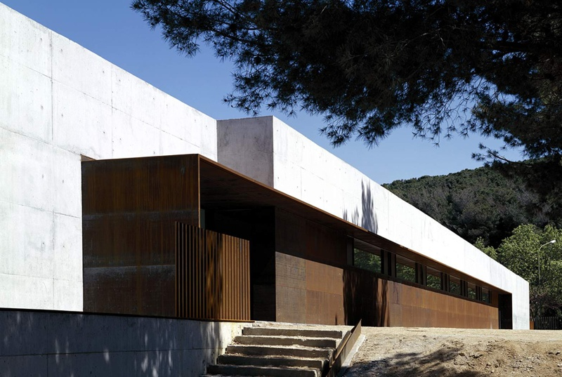 Building of the Botanical Institute of Barcelona CSIC