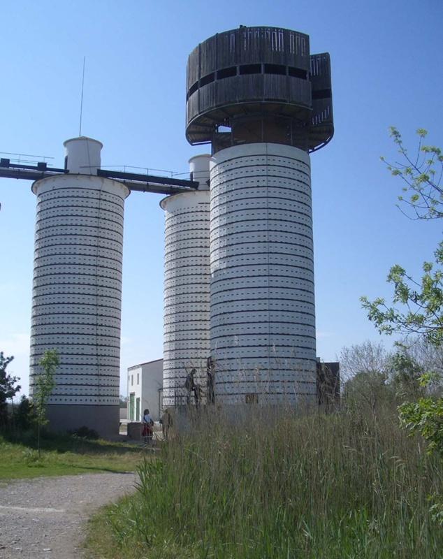 Observatorio en los Aiguamolls de l'Empordà