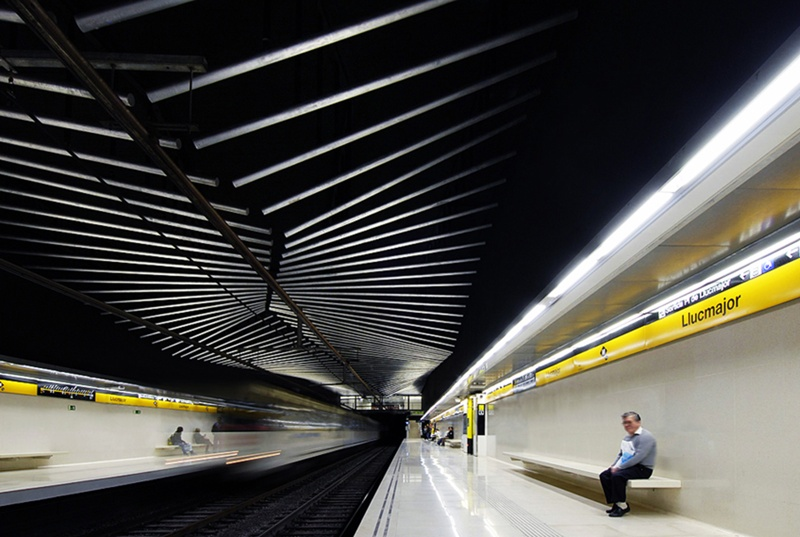 Line 4 Metro Station: Llucmajor