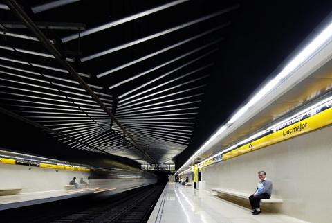 Estació de Metro L4: Llucmajor