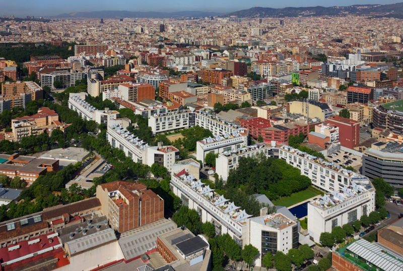 Three Housing Blocks in Cerdà's Eixample