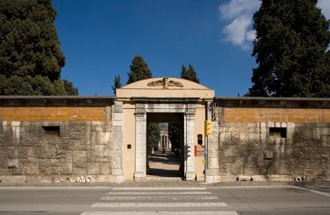 Façana Principal del Cementiri Vell de Girona
